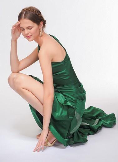Davet Çok Elbisem Yok Elbise Yeşil